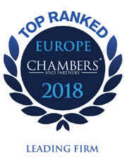 Chambers Europe - Leading firm 2018